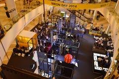 Día Tailandia 2014 de Nikon Fotografía de archivo
