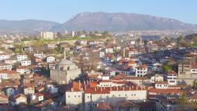 Día Timelapse, pueblo de Anatolia del otomano tradicional, Safranbolu, Turquía almacen de metraje de vídeo