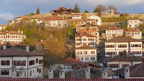 Día Timelapse, pueblo de Anatolia del otomano tradicional, Safranbolu, Turquía metrajes