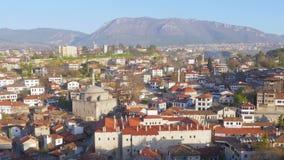 Día Timelapse, pueblo de Anatolia del otomano tradicional, Safranbolu, Turquía almacen de video