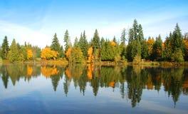 Autumn Day tranquilo foto de archivo