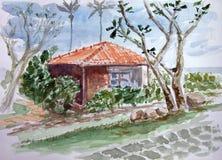 Día tropical Fotos de archivo libres de regalías