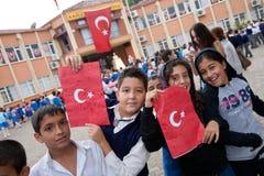 Día turco de la república Foto de archivo