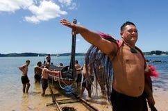 Día y festival - día festivo 2013 de Waitangi de Nueva Zelanda Fotos de archivo