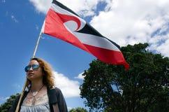 Día y festival - HOL de Waitangi del público de Nueva Zelanda Fotografía de archivo libre de regalías