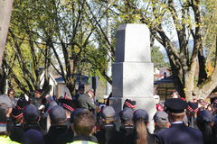 Día y monumento de la conmemoración Foto de archivo libre de regalías
