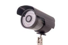 Día y noche cámara de vigilancia de la radio del color Imagen de archivo