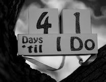 41 días fotos de archivo libres de regalías