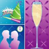 Días de fiesta - Año Nuevo stock de ilustración