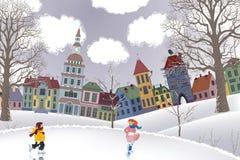 Días de fiesta de la Navidad stock de ilustración