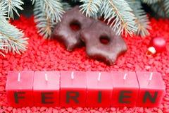 Días de fiesta de la Navidad Imagen de archivo