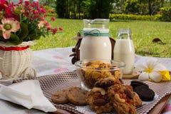Días de fiesta del desayuno Foto de archivo