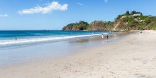 Días de fiesta en la playa Imagen de archivo libre de regalías