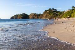 Días de fiesta en la playa Imágenes de archivo libres de regalías