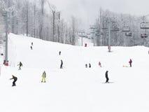 Días de fiesta en las montañas de Sochi Imagen de archivo libre de regalías