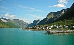 Días de fiesta en Noruega Foto de archivo libre de regalías