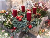 Días de fiesta de la Navidad en Hamburgo Foto de archivo libre de regalías