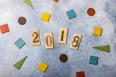 Días de fiesta de la Navidad Tarjeta de felicitación por el Año Nuevo Foto de archivo libre de regalías