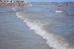 Días de fiesta, sol, mar y diversión de la playa fotos de archivo libres de regalías