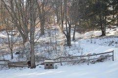 días de la nieve Fotos de archivo