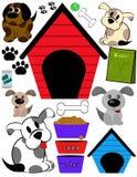 Días del perrito Imagen de archivo libre de regalías