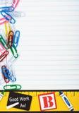 Días escolares Imágenes de archivo libres de regalías