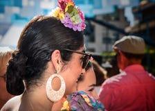 Días justos en Fuengirola España Fotografía de archivo libre de regalías