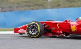 Días que compiten con de Ferrari Fotos de archivo libres de regalías