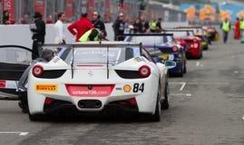Días que compiten con de Ferrari Foto de archivo