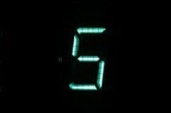 Dígito de VFD Fotos de Stock