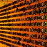 Dígitos binarios y octetos Imagen de archivo