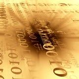 Dígitos binarios y octetos Imagenes de archivo