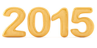 2014 dígitos del Año Nuevo Foto de archivo