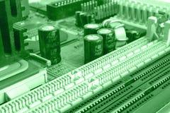 Dígitos e construções Imagem de Stock