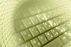 Dígitos e teclado imagens de stock