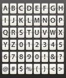 Dígitos fijados Imagen de archivo libre de regalías