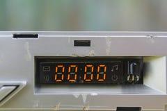 Dígitos fijados en cero fotos de archivo