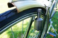 Dínamo de la bicicleta Imagen de archivo libre de regalías