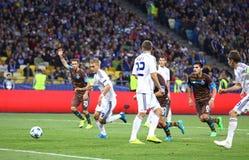 Dínamo Kyiv del juego de la liga de campeones de UEFA contra Oporto Imagen de archivo