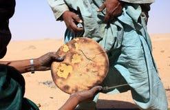 Dîner dans le désert Photographie stock libre de droits