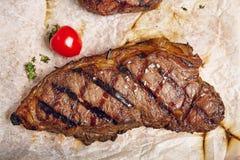 Dîner de bifteck de boeuf Images stock