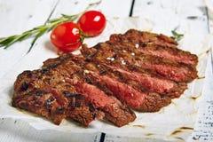 Dîner de bifteck de boeuf Photographie stock libre de droits