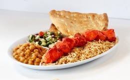 Dîner de chiche-kebab image libre de droits