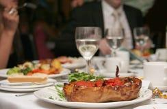 dîner de fête photographie stock libre de droits