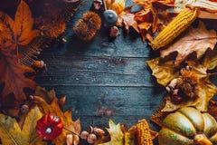 Dîner de jour de thanksgiving images stock