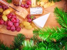 Dîner de Noël à la maison photographie stock