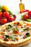 Dîner de pizza Image libre de droits