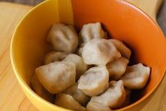 Dîner de ravioli de repas de plat de cuisine homemade photo libre de droits