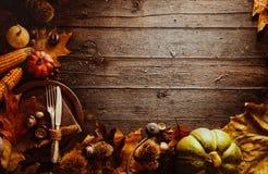 Dîner de thanksgiving Images stock