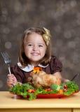 Dîner de thanksgiving photos stock